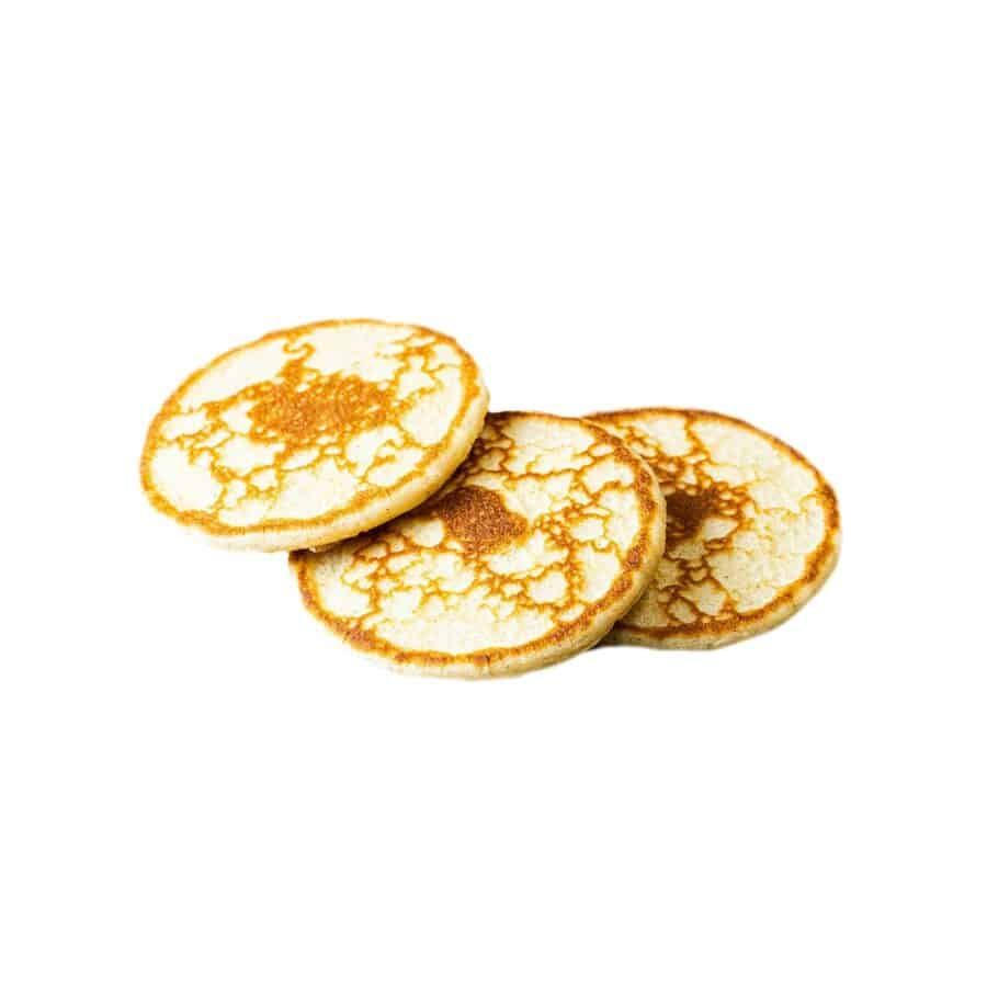 Blinis caviar creme fraiche stenbidderrogn