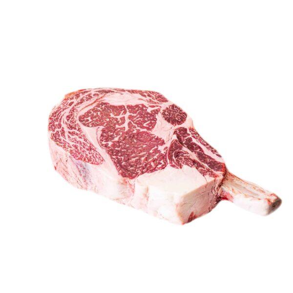 Wagyu Bone Ribeye OP Frenched MBS 4-5 beef steak a5
