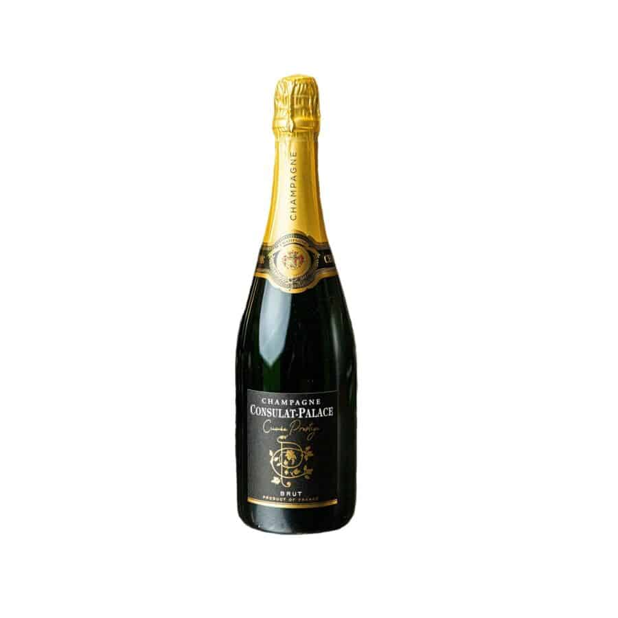 Champagne Brut fra Consulat-Palace i Frankrig